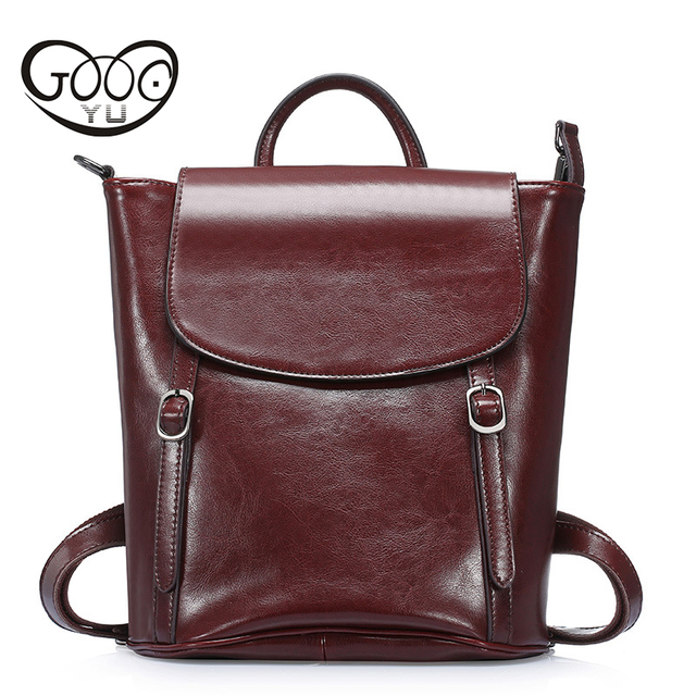 Real Leather Large Backpack Luxury Brands Natural Genuine Leather Backpacks  Cowhide Women Backpack Tote Bags Women Bag 5a97ac21d4