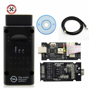 Image 1 - HOT!! 2019 OP COM V1.99 For Opel for S AABChip PIC18F458&FTDI Chip HW OPCOM CAN BUS Interface OP COM Flash Update free shipping