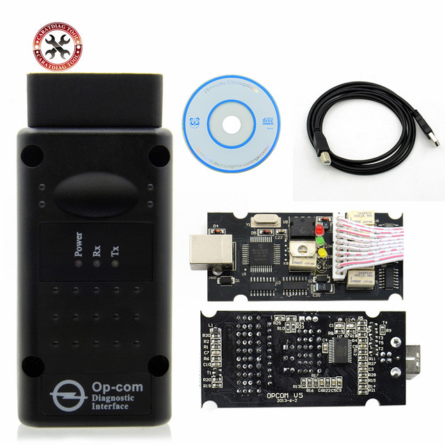 HOT!! 2019 OP COM V1.99 For Opel for S AABChip PIC18F458&FTDI Chip HW OPCOM CAN BUS Interface OP COM Flash Update free shipping
