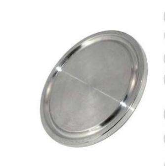 1pc 133MM 5'' 5 Inch SUS SS316 SS304 304 316 Stainless Steel Sanitary End Cap fits 5 Tri Clamp Ferrule Flange OD 145MM tri clamp clover for od ferrule stainless steel ss sus 304