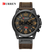 Relogio Masculino Mens Watches Top Brand Luxury Men Military Sport Wristwatch Leather Quartz Watch erkek saat curren 8314 цена 2017