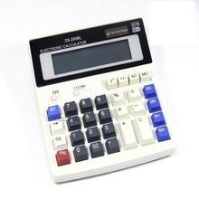 БОЛЬШОЙ Новый Офис калькулятор Большие клавиши компьютерные DS-200ML компьютер Солнечный Калькулятор
