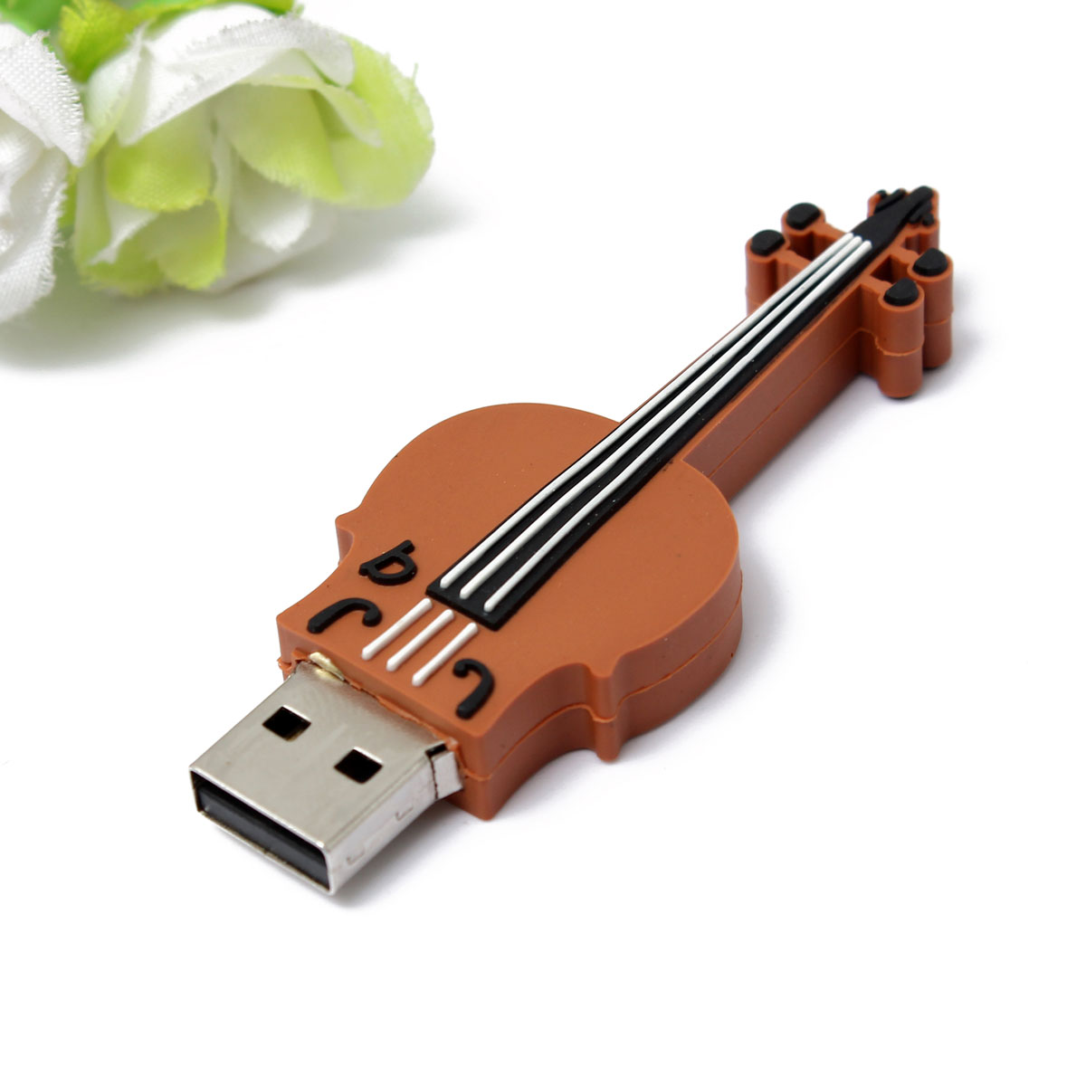 16GB Musical Instrument Violin Usb 2.0 Flash Drive Memory Stick Pen Drive Flash Memory Card Fashion Pendrive
