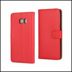Image 3 - עור כיסוי מקרה ארנק לסמסונג גלקסי Note8 קצה S8 S7 להעיף טלפון תיק אבזר Coque לגלקסי הערה 8 S8 בתוספת 50 יח\חבילה