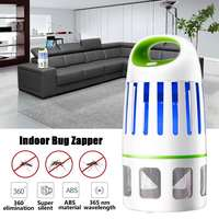 360° 10 LED Electric Mosquito Killer Fly Bug Insect Killer Trap UV Lamp Electric Indoor Mosquito Trap For Home Commercial