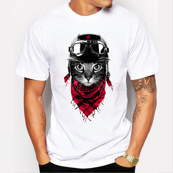 Aderventure kot sowa Friggin wzór Panda moda męska koszulka śmieszne zwierząt drukowane topy z krótkim rękawem Hipster spersonalizowana koszulka tanie i dobre opinie Z KRÓTKIM RĘKAWEM tops regular Czesankowe POLIESTER spandex Z okrągłym kołnierzykiem SHORT TEEHUB