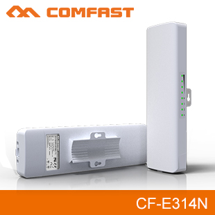 все цены на 2PCS comfast 300Mbps outdoor WIFI coverage AP&wireless repeater build-in 2*14dBi wifi antenna & WIFI transmitter &WI-FI receiver онлайн