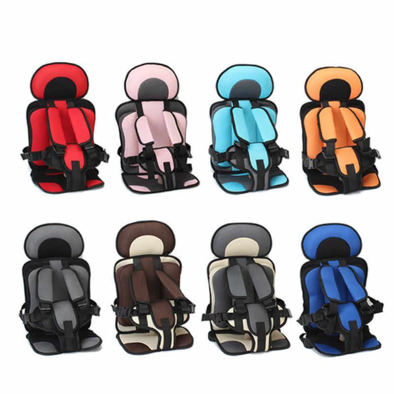 0-5 anos bebê seguro cadeira de assento esteira portátil do bebê da criança simples assentos de carro cadeira do bebê espessamento esponja crianças carrinho de