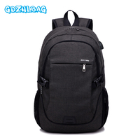 2017 Men Casual Backpack Male Business Travel Labtop Backpack USB Charging Function Shoulders School Bag Rucksack