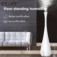 New MH 610 Household Floor standing Air Humidifier 5.5L Large Capacity Smart LED Display Electric Aroma Essential Oil Diffuser