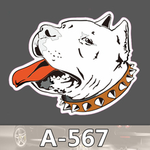 A-567 Hund Wasserdichte Kühle DIY Aufkleber Für Laptop Gepäck Skateboard Kühlschrank Auto Graffiti Cartoon Aufkleber