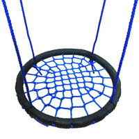 Children Round Nest Swing Indoor Outdoor Hanger Children Net Rope Stout Swing Baby Toys TB Sale