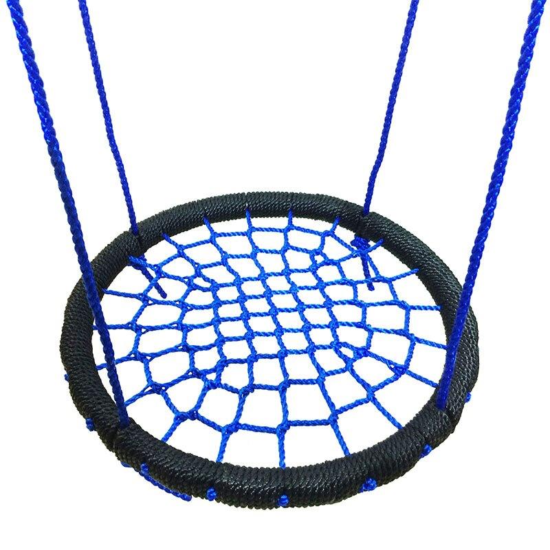 Enfants rond nid balançoire intérieur extérieur cintre enfants Net corde Stout balançoire bébé jouets TB vente