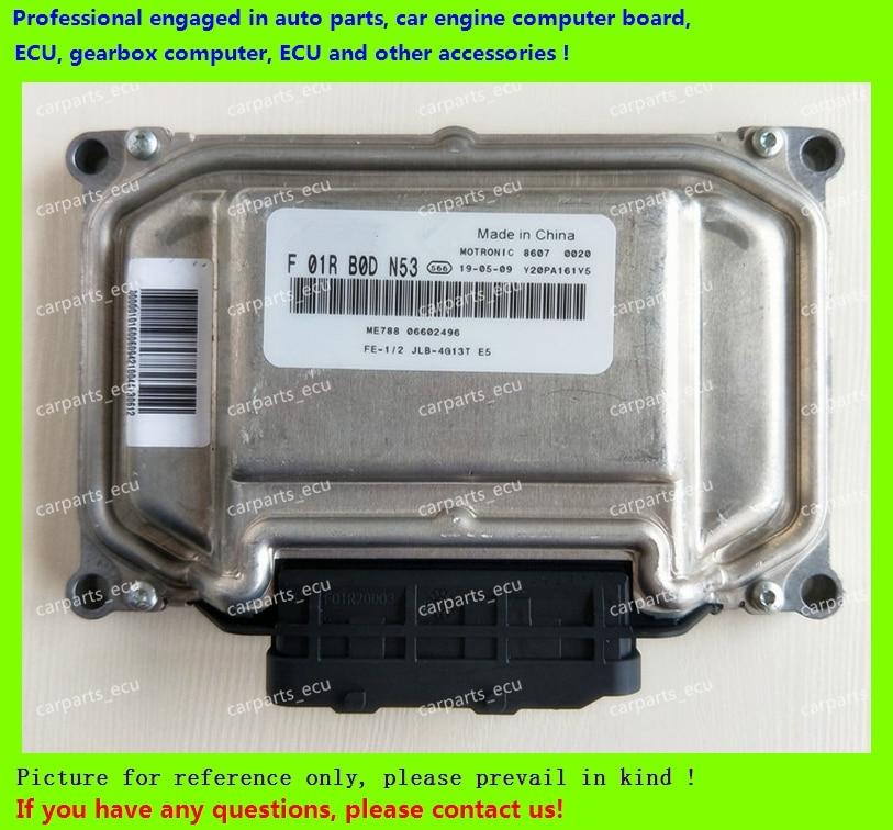 para f01r00dn53 f01rb0dn53 06602496 me788 geely jlb 4g13t placa do computador do motor do carro ecu