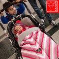 Горячая 2016 Новый Бросился ребенка Спальный Мешок, детские Коляски Спальный Мешок Зимний Теплый Конверт Для Коляски/Оксфорд ножки для инвалидного кресла