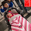 Hot 2016 New Rushed baby Sleeping Bag, Baby Stroller Sleeping Bag Winter Warm Envelope For Pram / Oxford footmuff for wheelchair