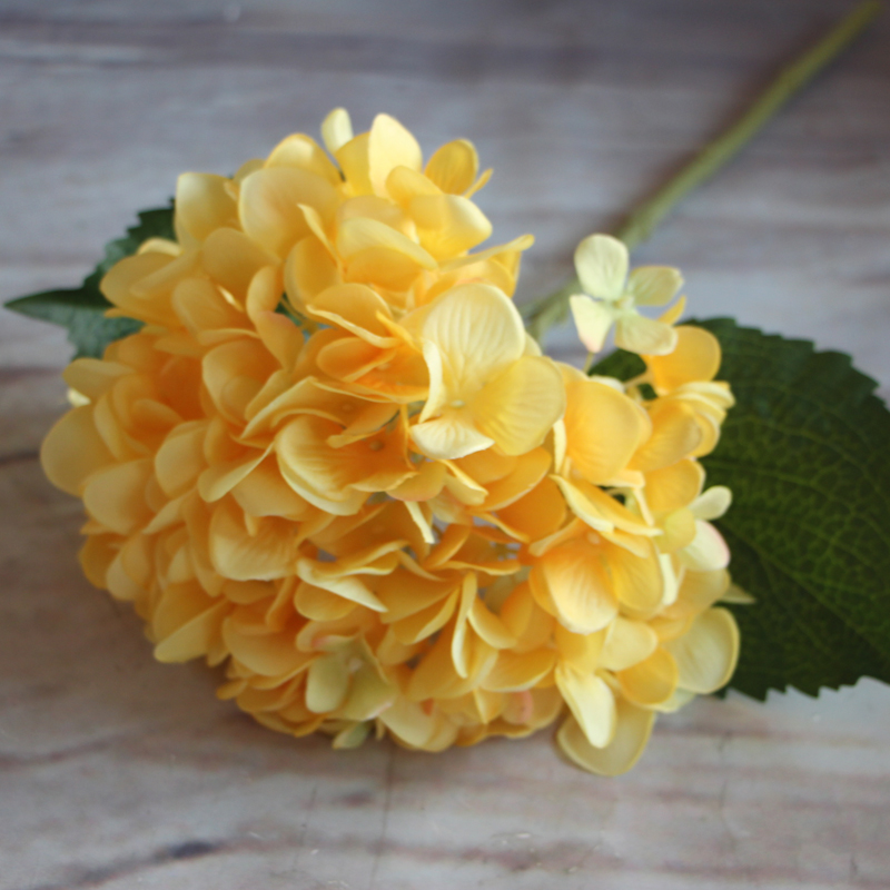 Yellow french rose floral 1 bouquet artificial silk peony flowers aeproducttsubject mightylinksfo