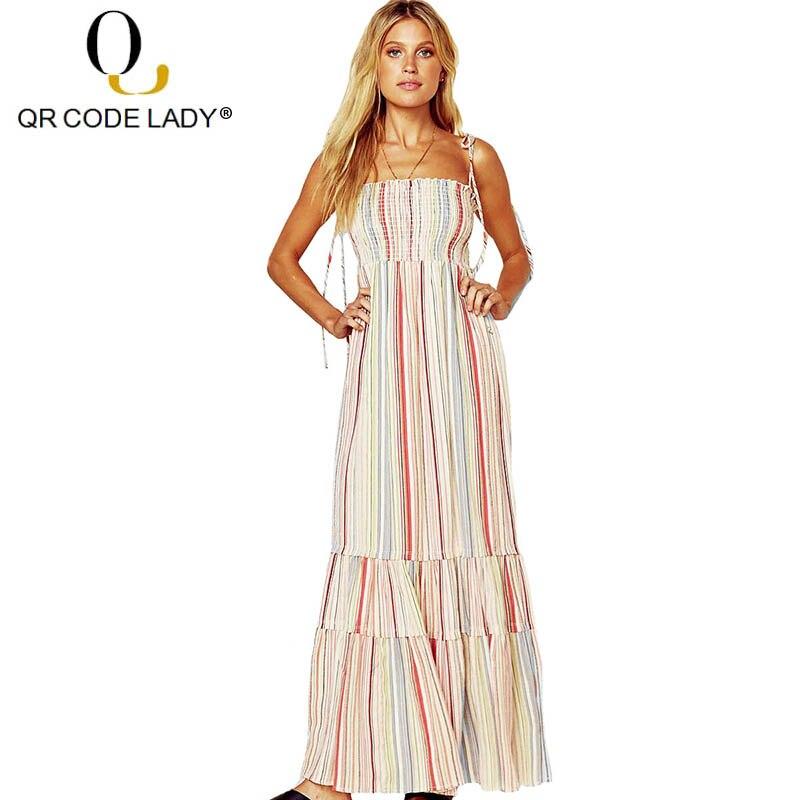 QR femmes enceintes robe été 2019 décontracté Slim imprimer Bandage longue robe de soirée femme Sexy sans bretelles Boho plage Maxi robes