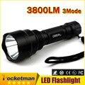 LED hunting Flashlight Torch Hight Power Cree Led Torch C8 Cree light lantern nitecore Waterproof For 1x18650