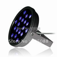 IP65 Outdoor 50W Edison 3-IN-1 RGB Led Dmx Wall Washer light DC24V Round LED Landscape Lamp DMX512 Decorating Lighting 5pcs/lot