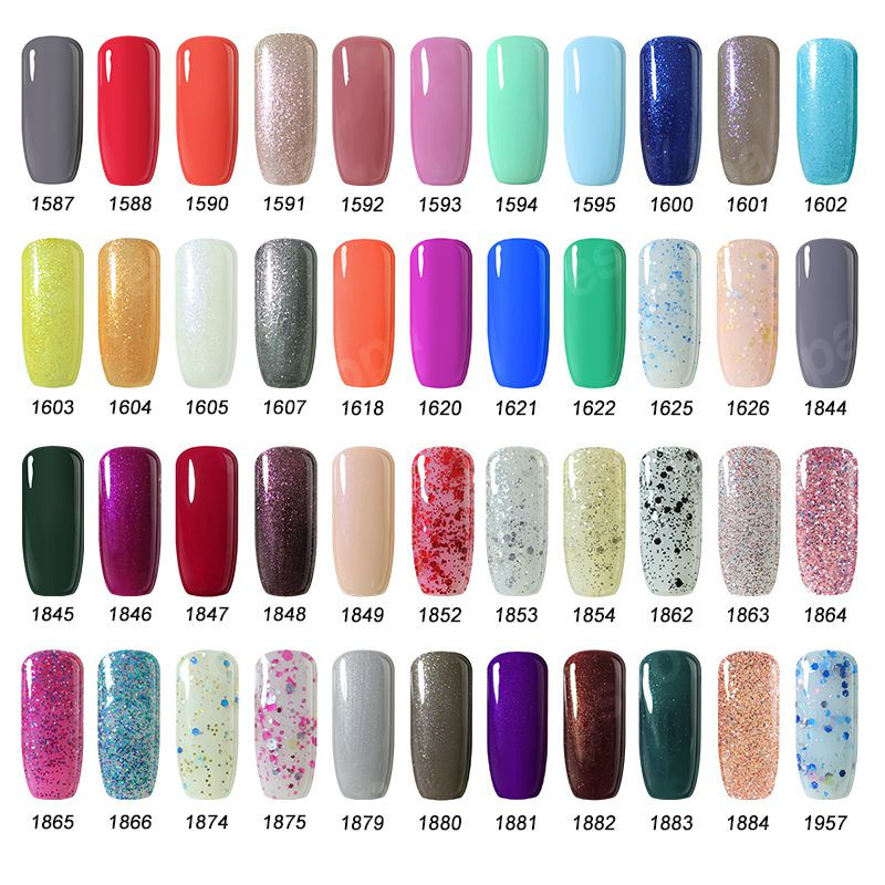 Arte Clavo Pilih 1 Pcs Dari 220 Warna 15ml Gel Cat Kuku Art UV Gel - Nail art - Foto 6