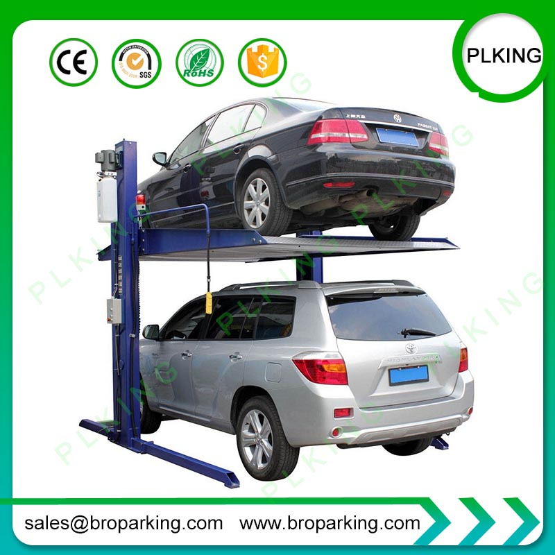 Home Garage Equipment Simple 2 Post Car Lift For Parking