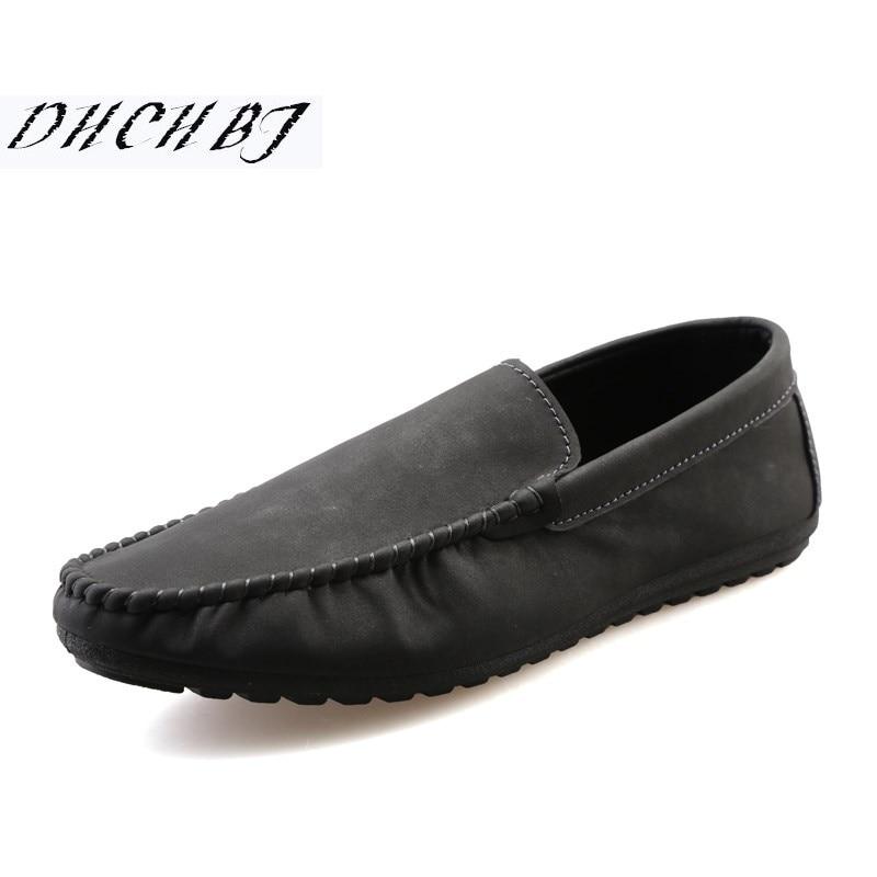 Loafers Men Driving-Shoes Designer Flats Comfortable Slip-On Men's Male Soft Hot-Sale