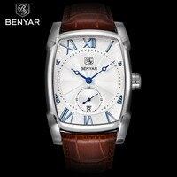 Benyar Watch Men Fashion Sports Quartz Clock Mens Watches Top Brand Luxury Business Waterproof Watch Relogio