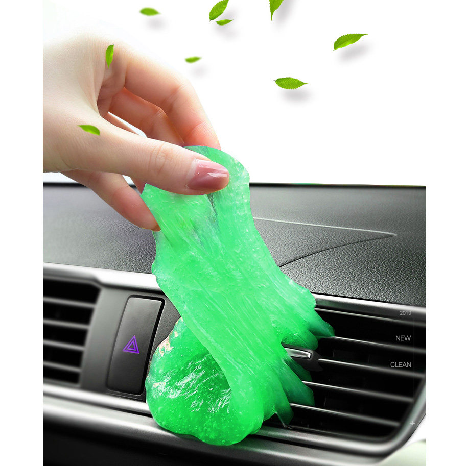 New Soft Clean Gel Super Dust Remover Keyboard Cleaner Magic Cleaning Tool Universal for Keyboard Car Air Outlet (Random color)-in Sponges, Cloths & Brushes from Automobiles & Motorcycles