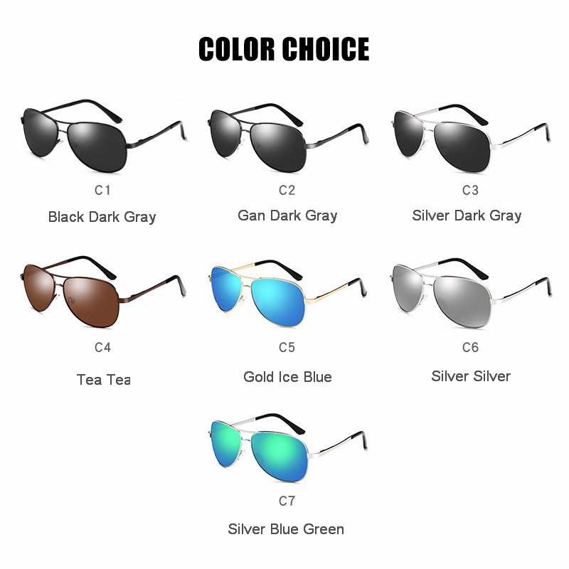 Aviation Sunglasses Polarized Sunglasses Men Sunglasses for Pilot Shades For Men Eyewear oculos de sol in Men 39 s Sunglasses from Apparel Accessories
