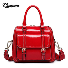 CGMANA Fashion Messenger Bag Women 2018 Classical Luxury Handbag Handbags Soft Leather Shoulder Crossbody