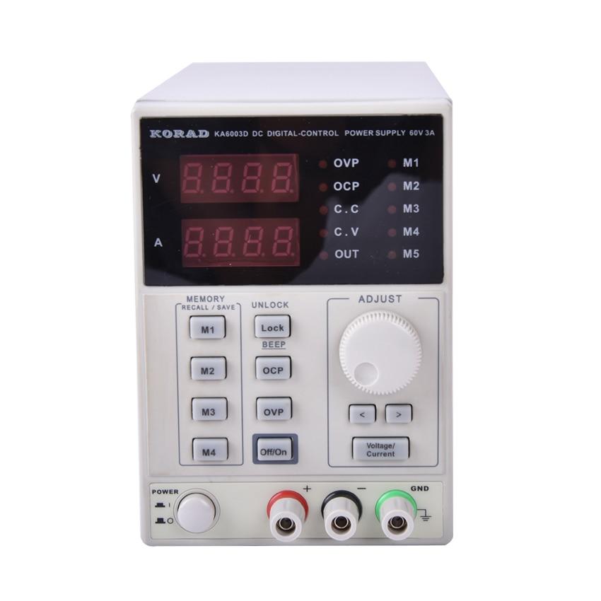 KA6003D High Precision The Lab programmable Adjustable Digital Regulated power supply DC Power Supply 60V/3A mA 4Ps cps 6011 60v 11a digital adjustable dc power supply laboratory power supply cps6011