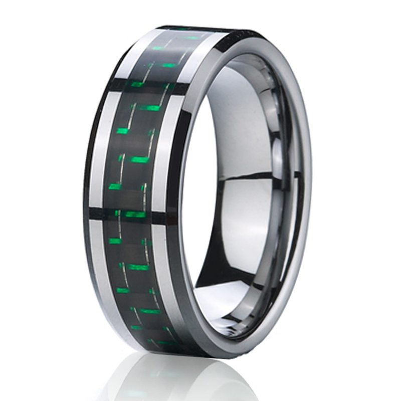 wedding band tungsten ring jewelry for mens
