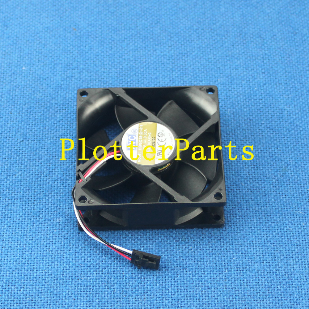 Q5669-60664 Vacuum/aerosol fan assembly for HP DesignJet T610 T1100 Z2100 Z3100 Z3200 original used полароид fujifilm instax210 210