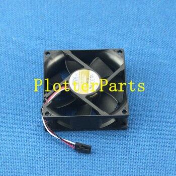 Q5669-60664 Vacuum/aerosol fan assembly for HP DesignJet T610 T1100 Z2100 Z3100 Z3200 original used