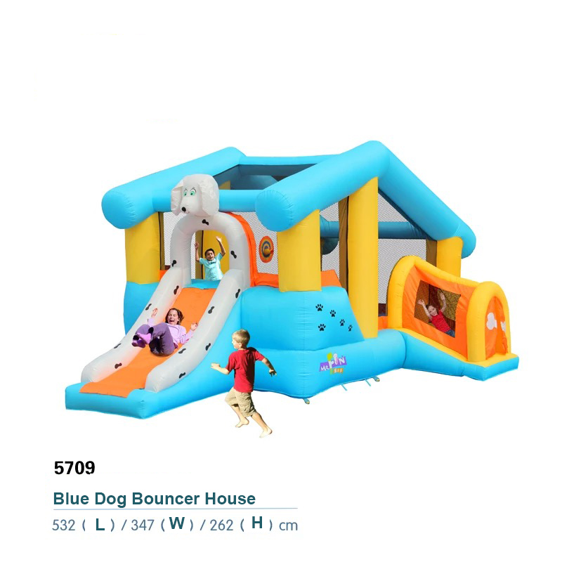 HTB1OaSmPFXXXXXZaXXXq6xXFXXXa - Mr. Fun Kids Dog Bouncy Inflatable Bounce House Big Slide Combo with Blower