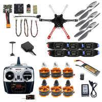 2,4G 8CH F550 RC Quadcopter Unassemble Kits DIY Drone FPV Upgrade mit Radiolink Mini PIX M8N GPS Höhe Halten modell