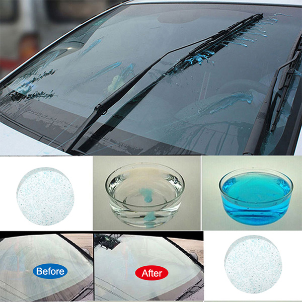 Car Cleaning Effervescent Tablets Windscreen Cleaner Solid Wiper For Windshield Glass VS998