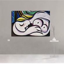 Pablo Picasso The Mirror Canvas Posters Prints Marble Abstract Wall Art Painting Decorative Picture Modern Home Decor Artwork HD quien fue pablo picasso