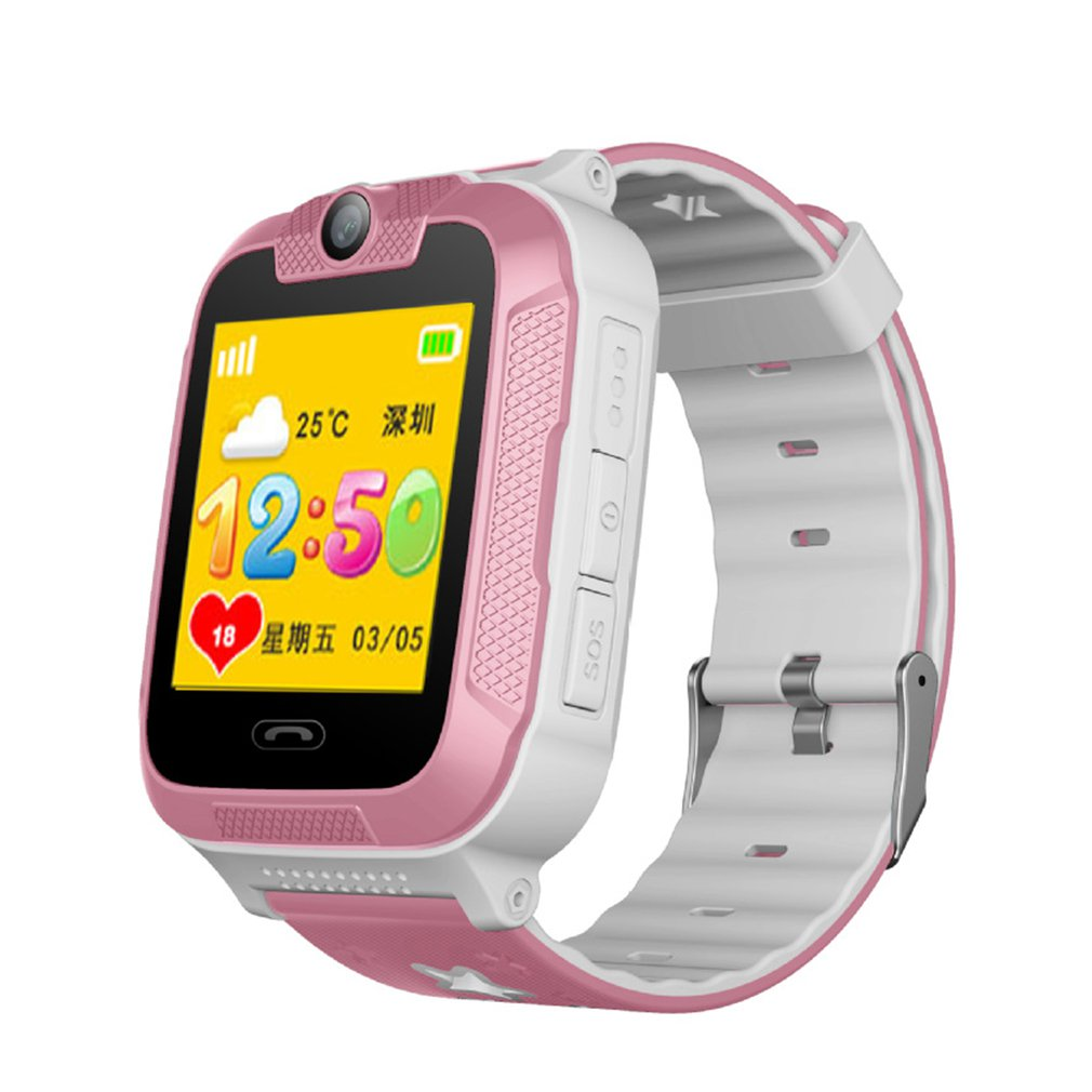 Christmas Gift 3g Children's Smart Watch Color Screen Touch-screen Learning And Learning Watch Gps Phone Watch