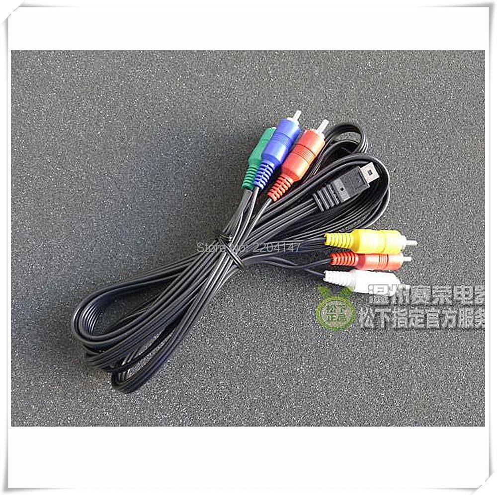original Genuine K1HY12YY0012 AV Multi Cable for Panasonic HC-X800 HC-X900  HC-X909 HDC-HS60 HS80 SD800 SD900 HDC-TM90 HDC-TM900