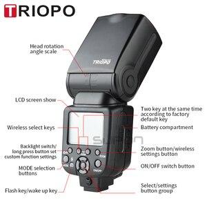 Image 3 - Triopo Speedlite Flash Speedlight TR 960 III 2.4G Wireless Suit for Sony A850 A450 A500 A560 A77 A65 A33 A35 Cameras Genunie