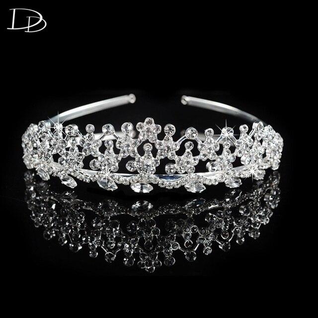 Romantische blumen design kronen schneeflocke braut weiß 585 gold ...