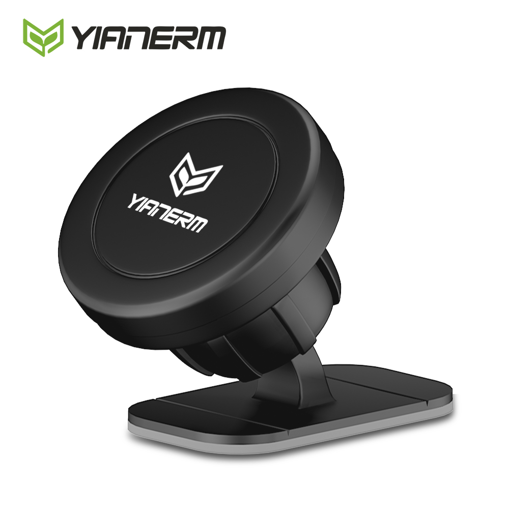 Yianerm Magnetic Car Phone Holder For IPhone X Xs Max 6s 7 Plus Dashboard 3M Stick Mount Magnet Holder Stand For Phone In Car