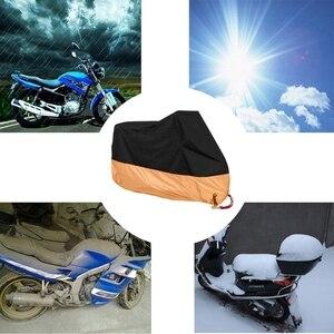 Image 3 - Бесплатная доставка, оранжевый чехол для мотоцикла L/XL/XXXL, водонепроницаемый чехол для Harley Davidson Street Glide Touring, Прямая поставка