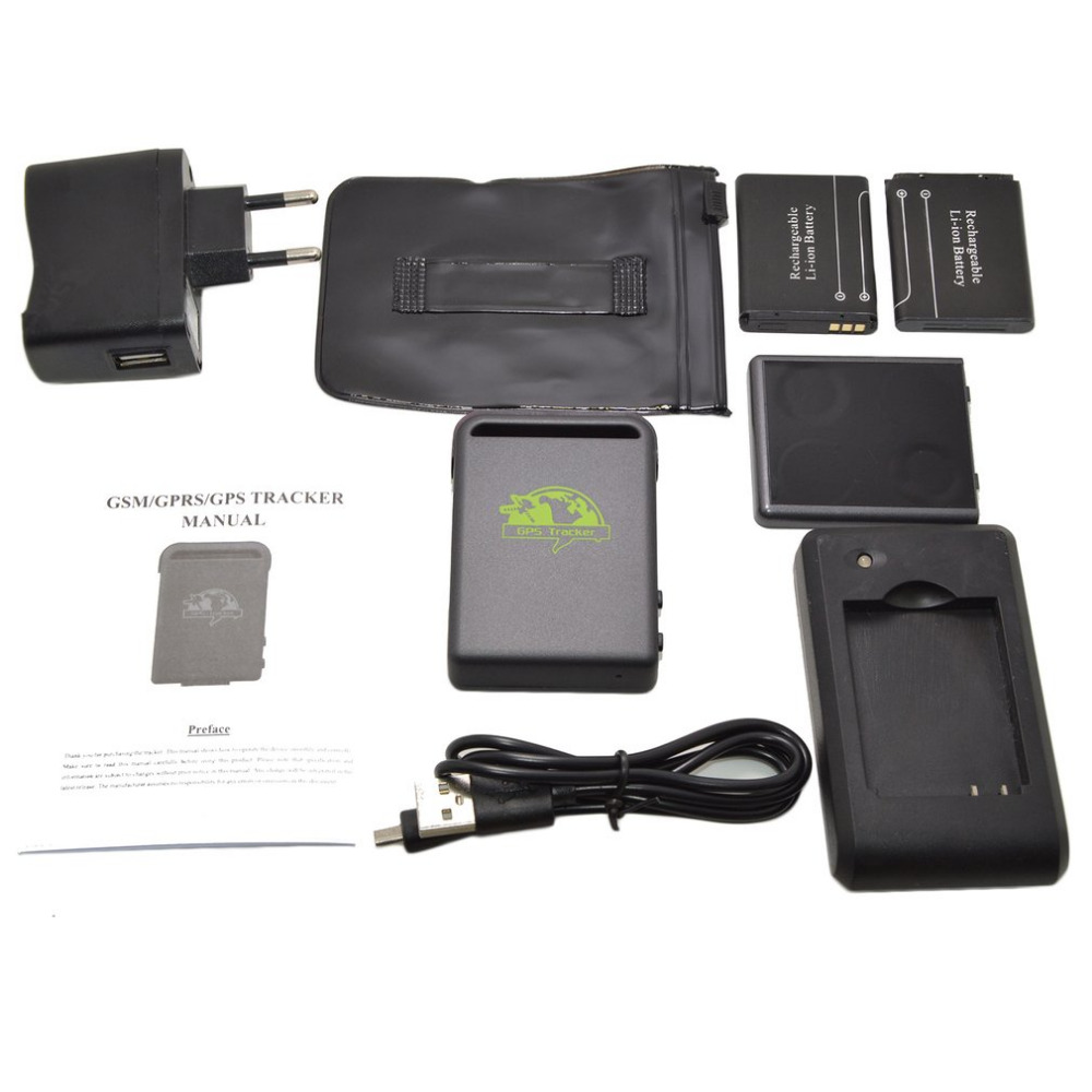 Newest TK102 2 Safe and reliable Mini Car Vehicle Tracker GPS Real time GPS/SMS/GPRS Tracking Device Hot Free Shipping