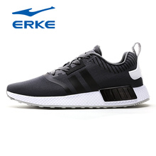 ERKE Hot Running Shoes Men Sports Shoes Breathable Knitted Running Sneakers Men Trainers Jogging Shoes Zapatos