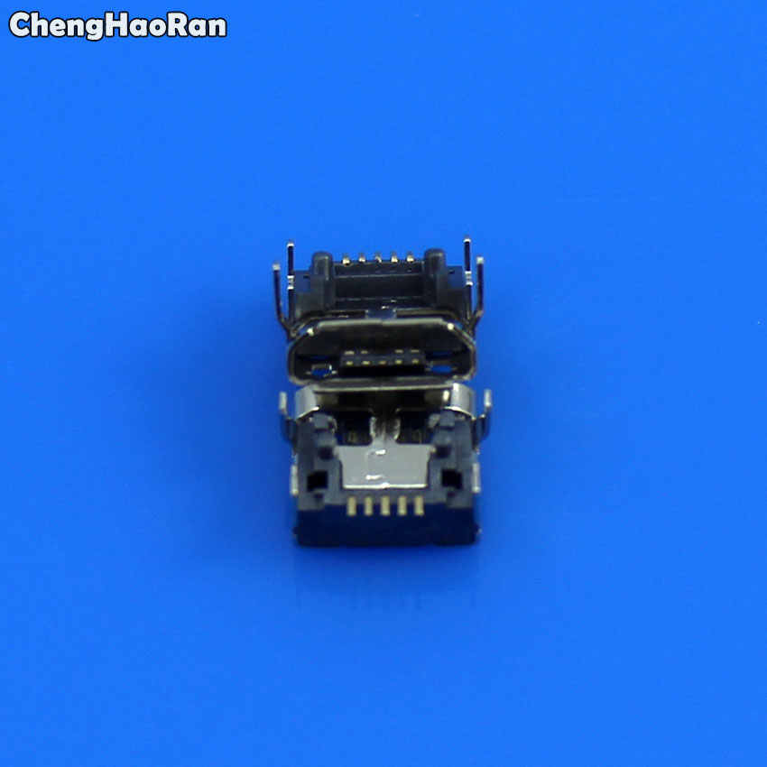 ChengHaoRan 5 cái cho JBL Phí LẬT 3 Bluetooth Loa Nữ 5 pin loại B Micro mini USB Sạc Cổng jack cắm Kết Nối