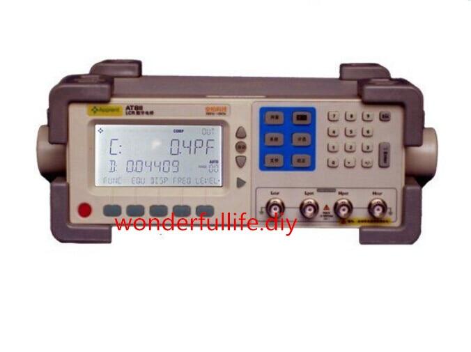 AT811 Precision Digital LCR Meter Accuracy 0.2% 100Hz 120Hz 1kHz 10kHz Digital LCR Bridge lutron lcr 9083 digital lcr meter