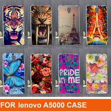 for Lenovo A5 A500 A5000 case Lenovo A5000 phone case PC cover hard painting case cover for lenovo A5 A5000